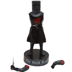 Monty Python's Black Knight Talking Statue