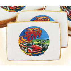 Hot Wheels Speed City Cookies