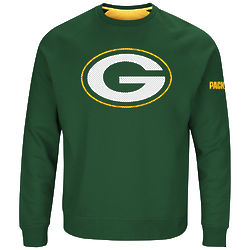 Men's Green Bay Packers Classic Crew Sweatshirt