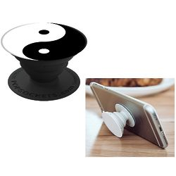 Yin Yang Expanding Stand and Grip for Smartphones and Tablets