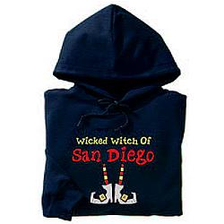 Personalized Halloween Wicked Witch of Anywhere Hoodie