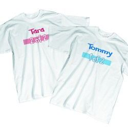 Twin Personalized Youth T-Shirt
