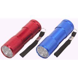 """3-1/2"""" Nine LED Flashlights"""
