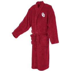 Oklahoma University Men's Ultra Plush Bathrobe