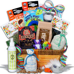 Ultimate Pampered Cat Gift Basket