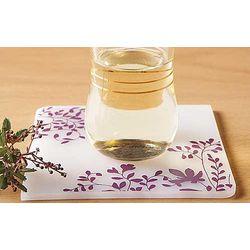 Silicone Purple Coasters