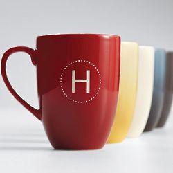 Personalized Hand-Glazed Ceramic Coffee Mug