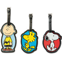 Peanuts Luggage Tag