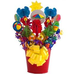 Fun in the Sun Lollipop Bouquet
