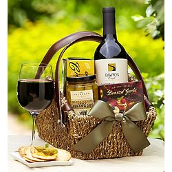 Sonoma Red Wine Country Escape Gift Basket