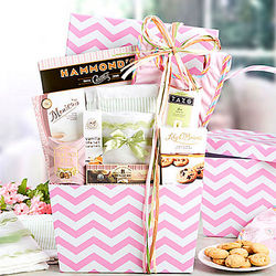 Beautiful Baby Girl New Mom Gift Basket
