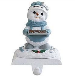 Personalized Snow Buddies Stocking Holder