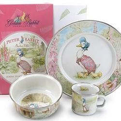 Jemima Puddle Duck Plate Set