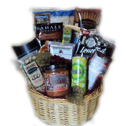 Healthy Birthday for Him Gift Basket