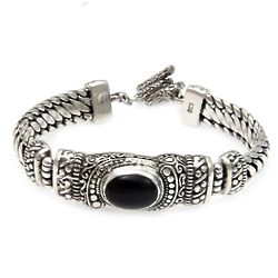 Men's Royal Bali Onyx Bracelet