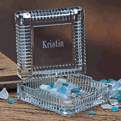 Keepsake Crystal Personalized Cache Box