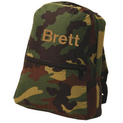Small Camouflage Backpack