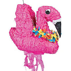 Beach Flamingo Piñata