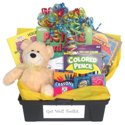Get Well Activity Box with Books