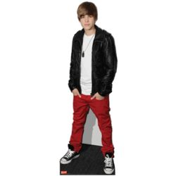 Life Size Justin Bieber Classic Standee