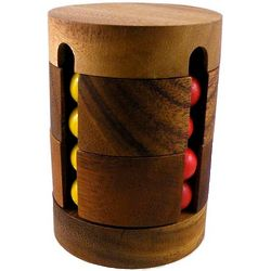 Spin To Win Wooden Brain Teaser Puzzle
