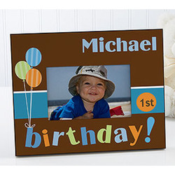 Personalized Kids Birthday Picture Frame