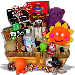 Ultimate Pampered Dog Gift Basket