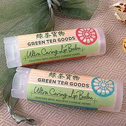 Green Tea Goods Lip Balms