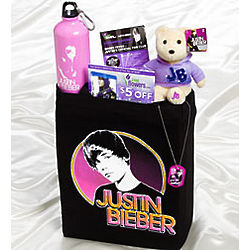 Justin Bieber Deluxe Gift Totebag