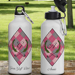Personalized Ladies Golf Water Bottle