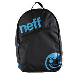 Black and Cyan Daily Backpack