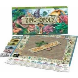 Dino-opoly Monopoly Board Game