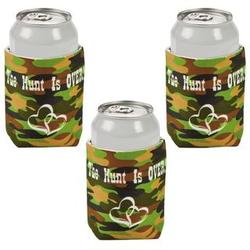 The Hunt Is Over Camo Can Covers