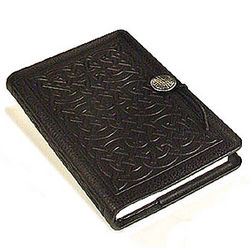 Celtic Design Handmade Leather Journal