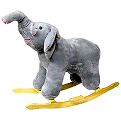 Earnest the Elephant Rocker with Sound