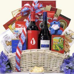 American Gourmet Wine Gift Basket