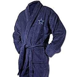 Dallas Cowboys Logo Navy Bathrobe