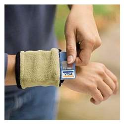 Fleece Wrist Wallet