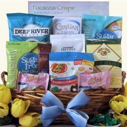 Happy Easter Sugar Free Gourmet Gift Basket