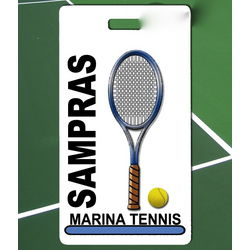 Custom Photo Tennis Bag Tag