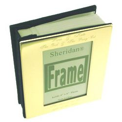 Personalized Brass Plated Photo Album