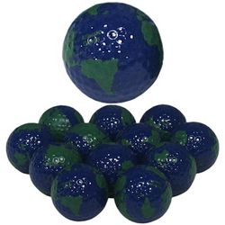 Novelty Earth Golf Balls