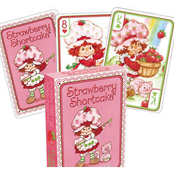 Strawberry Shortcake Playing Cards