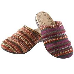 Fair Isle Clogs