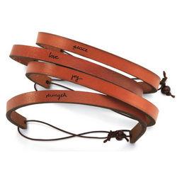 Leather Inspiration Bracelet