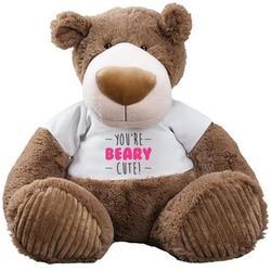 You're Beary Cute Mocha Bear