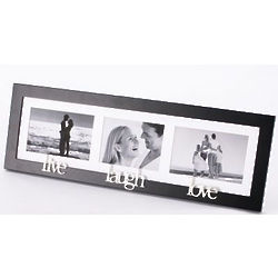 Live, Laugh, Love Multi-Picture Frame