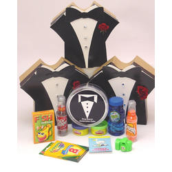 Ring Bearer Tuxedo Box of Treats