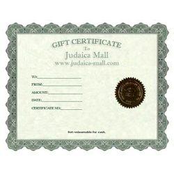JudaiCash Gift Certificate
