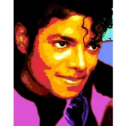 Michael Jackson Pop Art Print